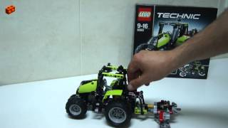 LEGO Technic 9393, Tractor Review