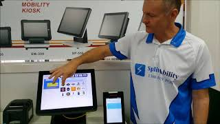 CBA Albert paired with POS Register or iPad