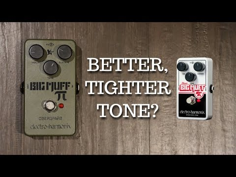 ELECTRO HARMONIX RUSSIAN BIG MUFF PI vs BIG MUFF PI: How Different Are They