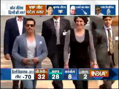 Priyanka Gandhi, Robert Vadra cast their vote