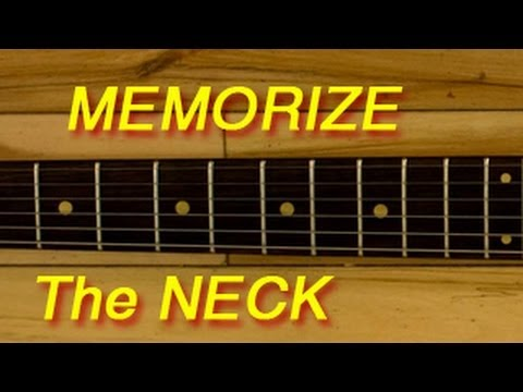 How To Memorize Your Guitar Fret-board
