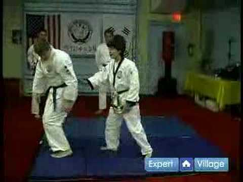 Tang Soo Do Korean Martial Arts : Back Break Fall in Tang Soo Do Martial Arts Image 1