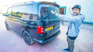 VW T6 CARBON SPOILER UPGRADE!! * DRILLED THE VAN *