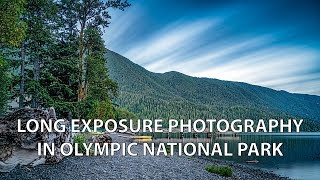 LONG EXPOSURE Photography at Olympic National Park!