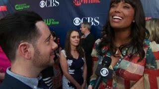 Fall Previews  - CBS Press Tour Red Carpet:  Aisha Tyler