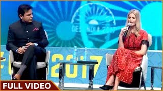 KTR Debate With Ivanka Trump || Global Entrepreneurship Summit in Hyderabad, India