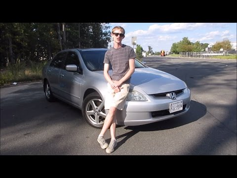 Just Drive // Full Review - 2003 Honda Accord EX-L