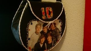1 D BOLSA HECHA POR TI PASO A PASO,  ONE DIRECTION