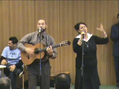 Juan Ramón y rocio iglesia evangelica filadelfia convencion de jovenes en madrid soy lo que Dios di