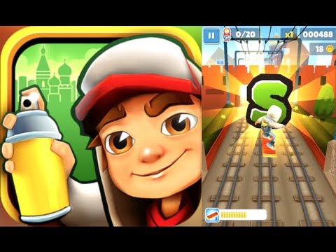 SUBWAY SURFERS: MOSCOW (iPhone  Gameplay)
