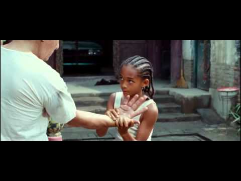 The Karate Kid (2010) - First Trainning Scene with Mr. Han