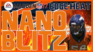 Madden 17: UNSLIDABLE Nickel 2-4-5 - Silver Shoot Pinch - 4 Man Edge Heat! Fast Nano Blitz!