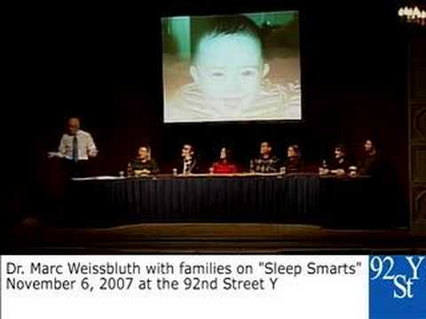 0 Sleep Expert Dr. Marc Weissbluth at the 92nd Street Y