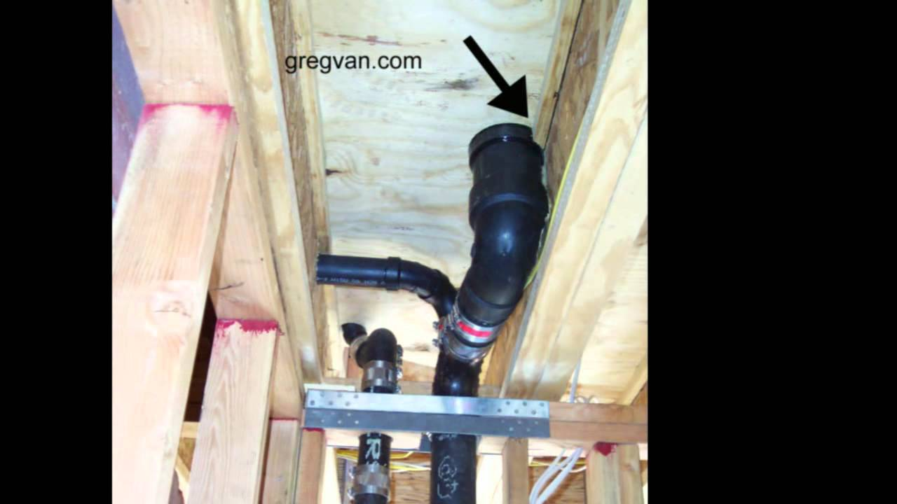Damaged Truss Joist By Plumber Framing And Plumbing