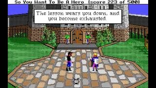 Hero's Quest: So You Want To Be A Hero (PC/DOS) Longplay, EGA 16-color, 1989, Sierra