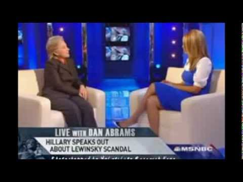Is she truthful?  Hillary Clinton interview with Tyra Banks about Monica Lewinsky #376 np