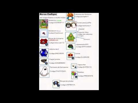 Códigos para destravar itens e moedas no Club Penguin