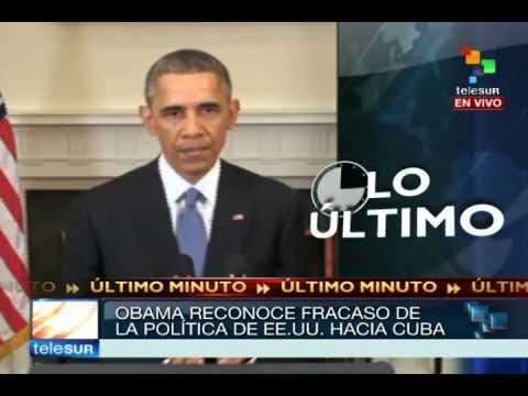 Raúl Castro (Cuba) y Barack Obama (EEUU) deciden restablecer relaciones: Así lo transmitió Telesur