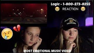 download lagu Logic - 1-800-273-8255 Ft. Alessia Cara, Khalid. Reaction *emotional* gratis