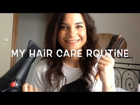 My Hair Care Routine - In Greek   PepiMary80