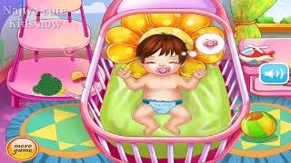 Little cute Baby games |Trik biar adik Enggak Rewel|kasih Empeng