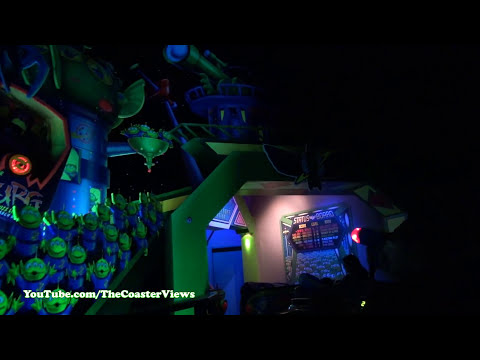 (Disneyland) Buzz Lightyear! Astro Blasters FULL POV California Resort HD
