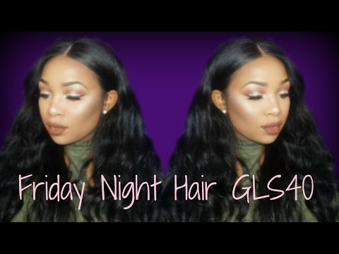 Friday Night Hair Review GLS 40  Curl Test🤔