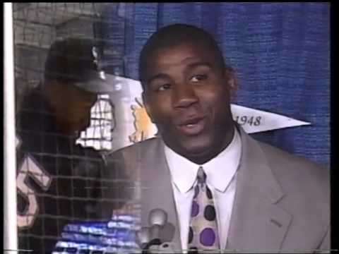 Magic Johnson Lakers Coaching 1994