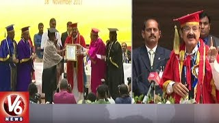 Vice President Venkaiah Naidu And Minister Harish Rao Attends For GITAM University Convocation