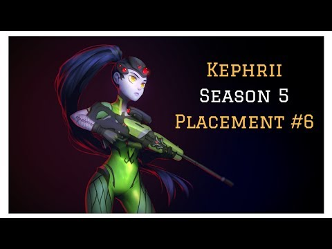 [Overwatch] Kephrii - Season 5 - Placement #6