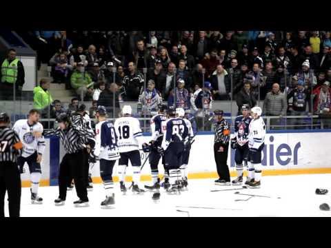 Хоккейный матч Торпедо (НН) - Динамо (Минск)