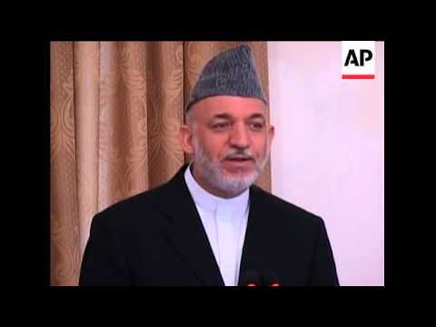 Karzai says leak of secret documents has endangered Afghan citizens
