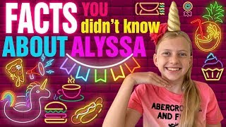 20 Questions with Alyssa -- Something Even My MOM Didn't Know!