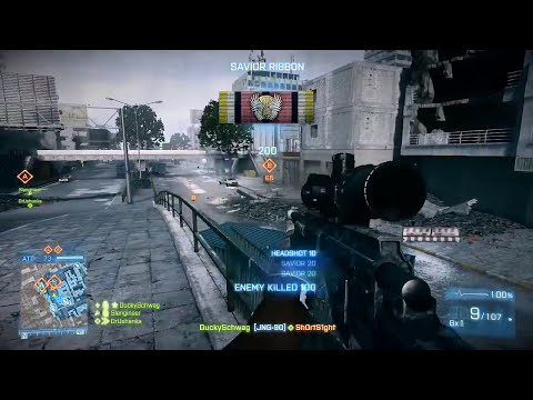 Battlefield 4 & PC vs. Xbox One and Playstation 4 (BF3 Gameplay)