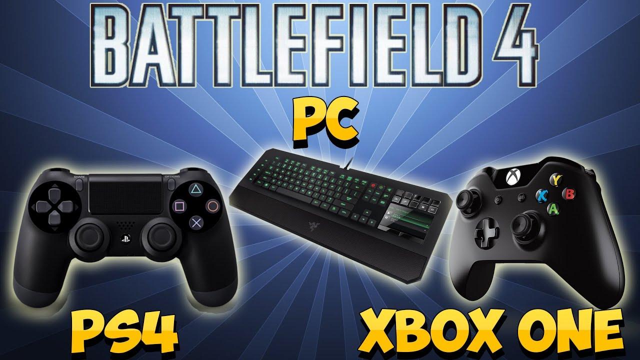 Playstation vs Xbox Wallpaper Battlefield 4 pc vs Xbox