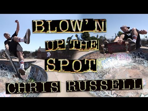 Blow'n Up The Spot: Chris Russell   Memorial Skatepark   Independent Trucks
