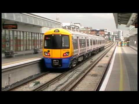 London Overground Class 378/1s At Surrey Quays,Hoxton,Haggerston,Dalston Junction & New Cross