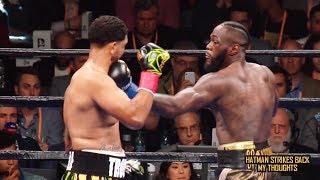 DEONTAY WILDER WILL GO DOWN IN HISTORY AS ONE OF THE HARDEST PUNCHERS