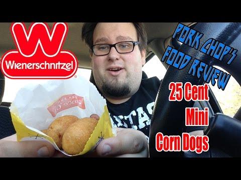 Pork Chop's Food Review: Wienerschnitzel's 25 Cent Mini Corn Dogs
