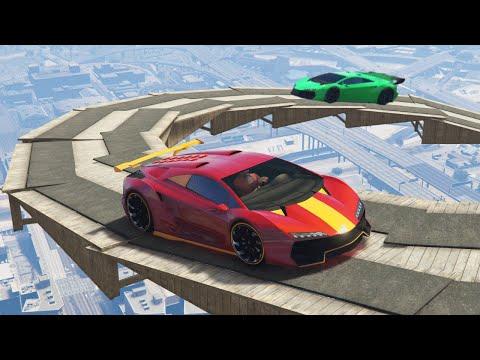 SKY STICKY BOMB JOUSTING (GTA 5 Online)