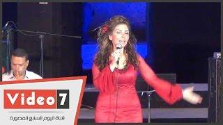بالفيديو.. نادية مصطفى تغنى «مسافات» فى مهرجان القلعة للموسيقى والغناء