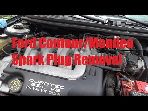 1999 Ford Contour/Mondeo Spark Plug removal