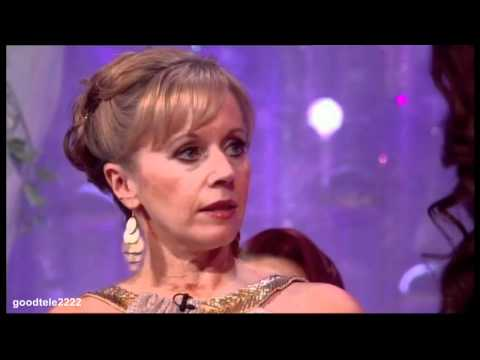 Jennifer Ellison Cuts Her Head - Dancing On Ice (HD Replay)
