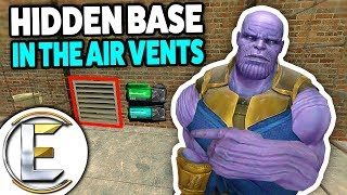 Hidden Base In The Air Vents - Gmod DarkRP Life (Hidden Money Printers In A Secret Place)