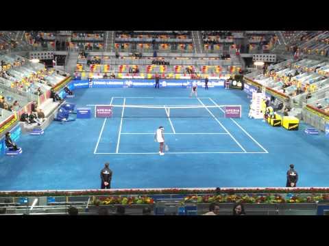 V. Williams vs Halep en Mutua Madrid Open