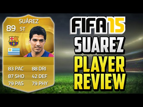 Fifa 15 Suarez Review (89) W  In Game Stats & Gameplay - Fifa 15 Player Review video