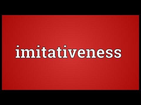Header of imitativeness