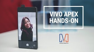 Vivo Apex Hands-On: Pop-up camera!