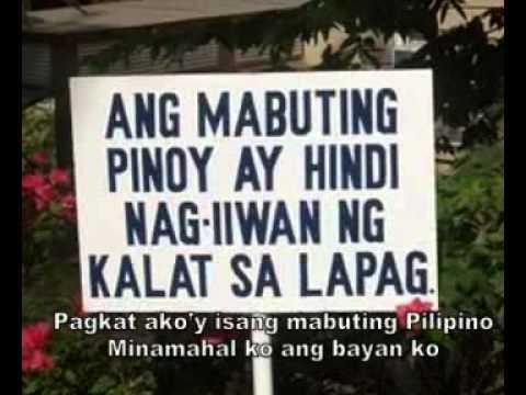 Noel Cabangon - Akoy Isang Mabuting Pilipino
