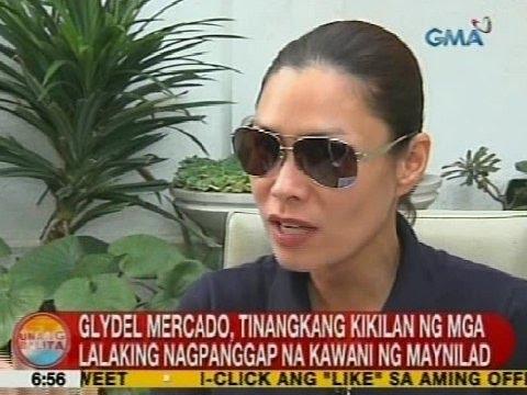 UB: Glydel Mercado, tinangkang kikilan ng mga lalaking nagpanggap na kawani ng Maynilad